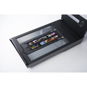 CanoScan 9000F with 12 film frames in holder Amazon  CanoScan 9000: The Best Photo Scanner To Preserve The Road Taken