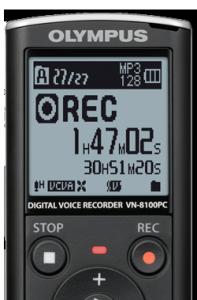Olympus VN 8100 close up pict 5073dbd7a3d158acd94d1b405a0ec9961 e1304726436812 197x300 Best Digital Voice Recorder Olympus VN 8100