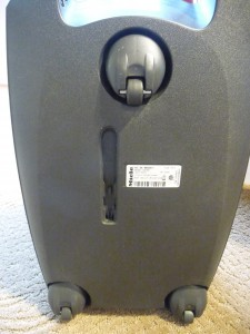 Miele S2 underside parking slot e1310740411580 225x300 The Best Canister Vacuums Miele S5 Libra & S2 Delphi