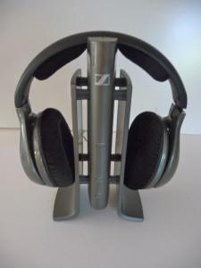 Sennheiser RS 180 on base P10906465 225x300 The Best Home Wireless Headphones Sennheiser RS 120 & RS 180