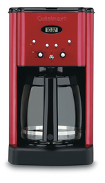 Cuininart Red Metal Finish Coffee Maker Photo Dcc 1200mr The Best Coffee Maker For Even 2 Cups Cuisinart DCC 1200