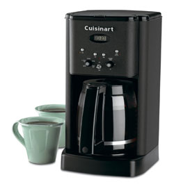 Cuisinart Black Metal Finish Coffee Maker Dcc 1200bw1 The Best Coffee Maker For Even 2 Cups Cuisinart DCC 1200