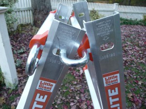 P1100528 300x225 Best Home Ladder: Little Giant Alta One 17 & Megalite   Rock Solid, Lighter, Adapts To Every Job