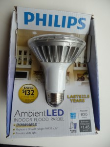 P1100984 e1324485196257 225x300 Tech Update: Two New Philips LED Replacement Lightbulbs Shine