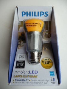 P1100986 e1324485064658 225x300 Tech Update: Two New Philips LED Replacement Lightbulbs Shine