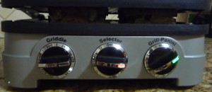 Griddler 4N Selector Dials and Indicator Lights