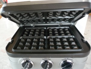 Griller 4N with Optional Waffle Plates Installed