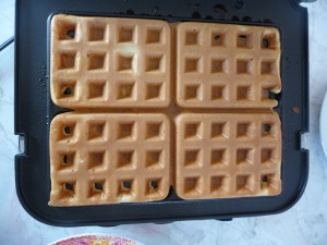 3 min Waffle Time Produced Light, Fluffy Waffles