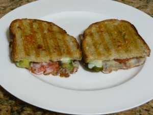 Panini Sandwiches made in Griddler 4N