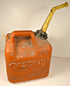 Old Style Vented Gas Can