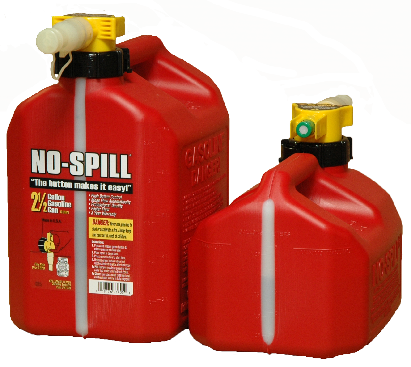 "Best Gas Can – The ""No Spill"" Gas Can: Hate Your Gas Can? Kansas (USA) Has The Solution"