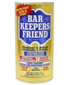 Barkeepers Friend Powder at Amazon